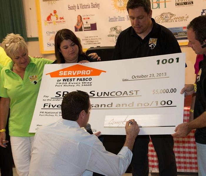 SERVPRO supports the SPCA