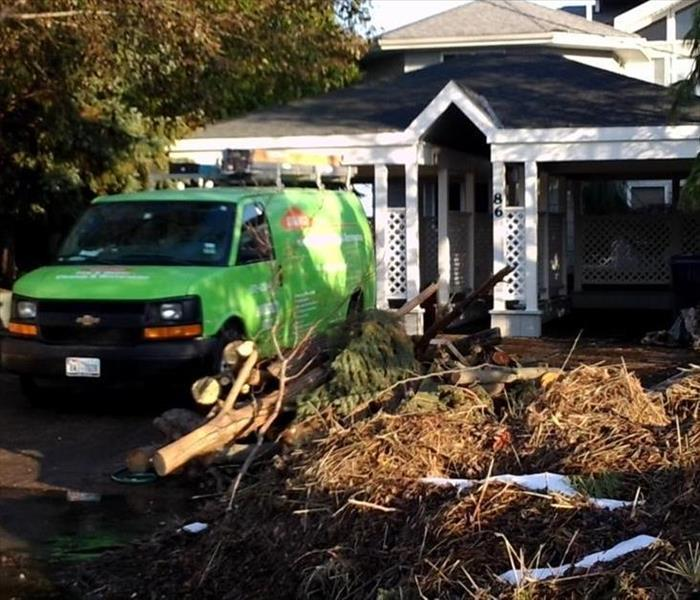 Storm Damage When Storms hit Pasco, SERVPRO is Ready!